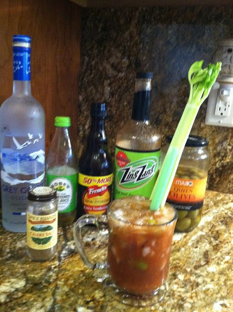 My favorite Bloody Mary