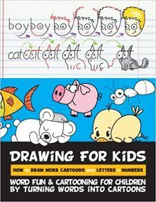 drawing for kids with words letters and numbers - Drawing Books For Children