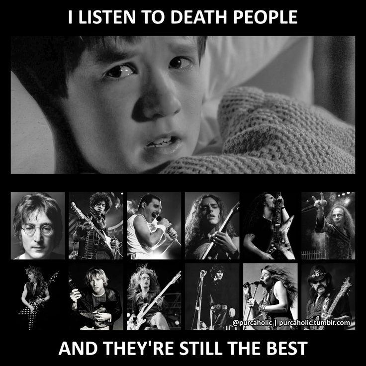 Chuck,Dimebag,Cliff,Lemmy, The Metal Gods