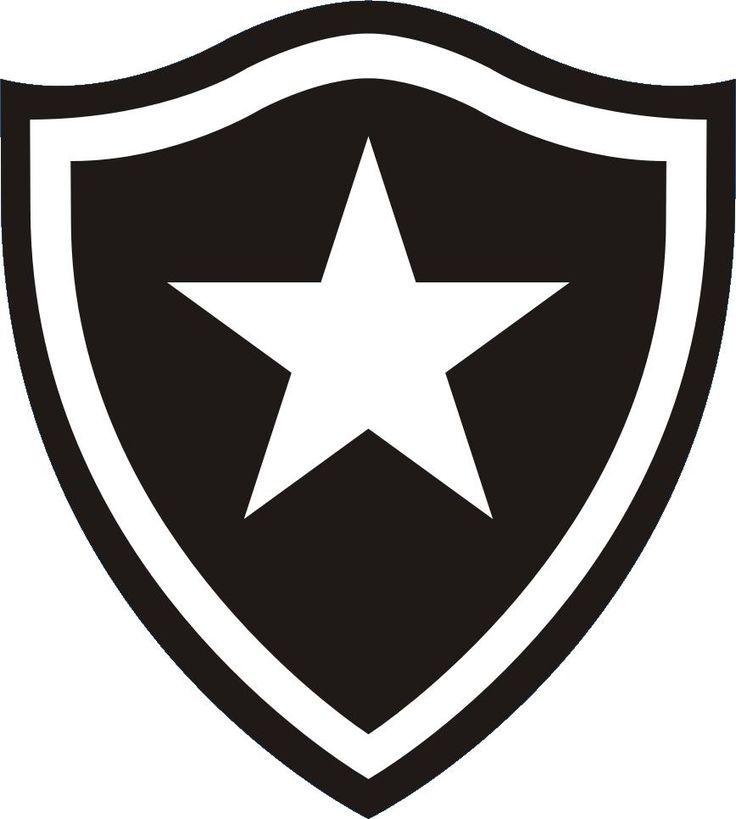 Considero o escudo do Botafogo do Rio de Janeiro, um dos mais belos desenhos que já vi. Sua beleza está na simplicidade do seu  formato, ao combinar perfeitamente o preto com o branco.