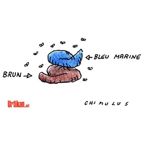 FN: la famille Le Pen s'écharpe au grand jour - Dessin du jour - Urtikan.net