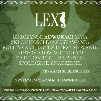 System Informacji Prawnej LEX