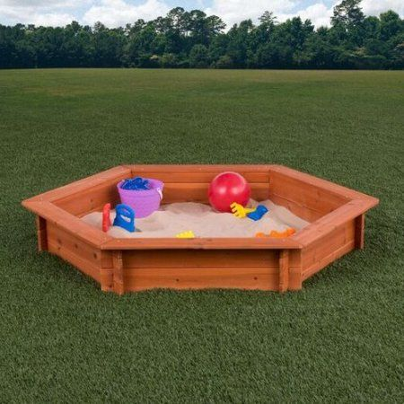 Toys Sandboxes Backyard Play Equipment Wooden Swing Set