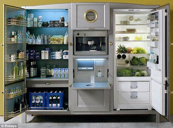 Bem Legaus!: Super-geladeira