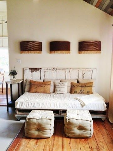 not so much the country styling, but I like the layout for guest bedroom / writing room.