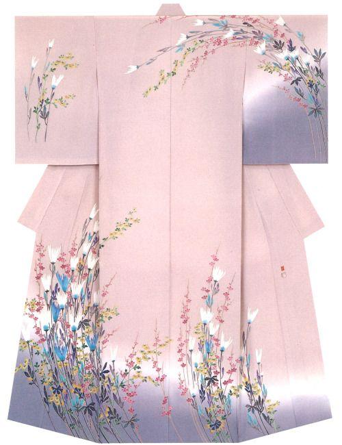 Kaga-Yuzen Kimono Kozo Shirasaka