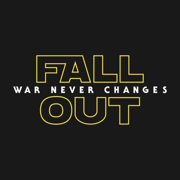 Fallout Shirt Star Wars mashup