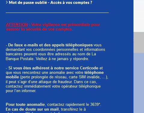 Bank - Banco online - La Banque Postale