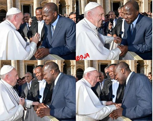 Dogara Meets Pope Francis Shocked To Know He Is Well Informed About Happenings In Nigeria
