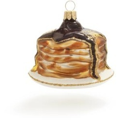 stack of pancakes ornament.