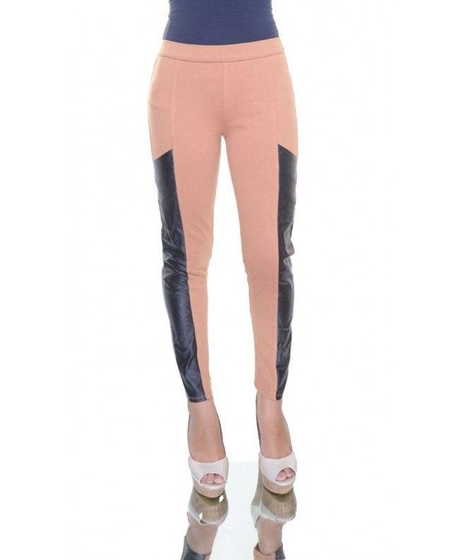 2181a8d64420 Womens Faux Trim Super Skinny Leggings - Indian Tan Combo - CK120EQNR8N, Women's Clothing, Pants #Pants #fashion #style #Pants
