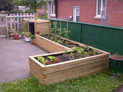 Potager sur lev jardin pinterest for Potagers sureleves