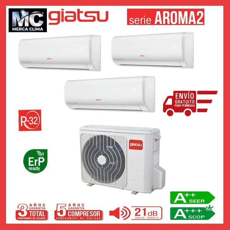 Aire Acondicionado 3x1 Giatsu Gia Mo3 21ix41br32 09ar2r32 09ar2r32