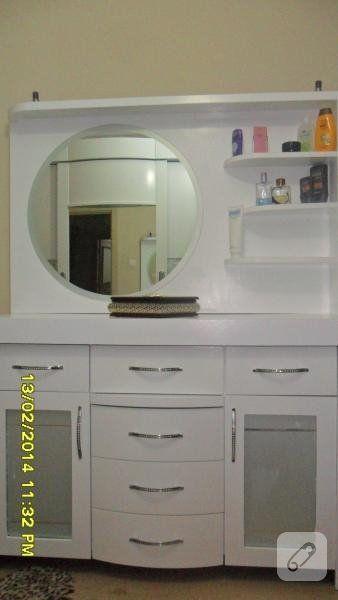 polisan luks anti aging beyaz ile boyanarak yenilenmiş yatak odası takımı. çalışmanın detaylarına bakarak siz de yapabilirsiniz. 10marifet.org'da.