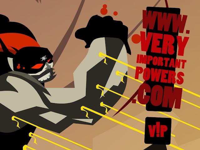 web comic serie V!P - Very Important Powers