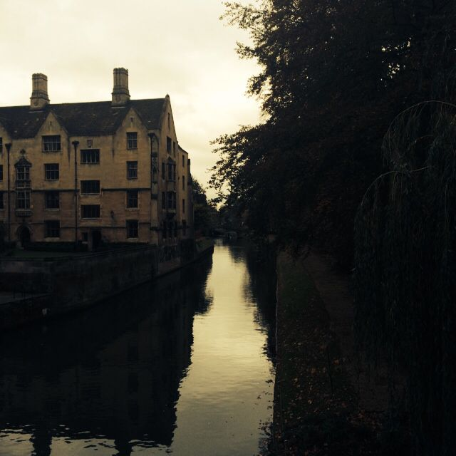 River Cam and Trinity College