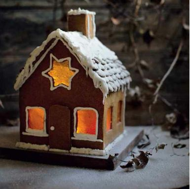 This recipe for a Gingerbread house is amazing, maybe a little tricky to pull off but worth a try , so many times better than the shop bought packs