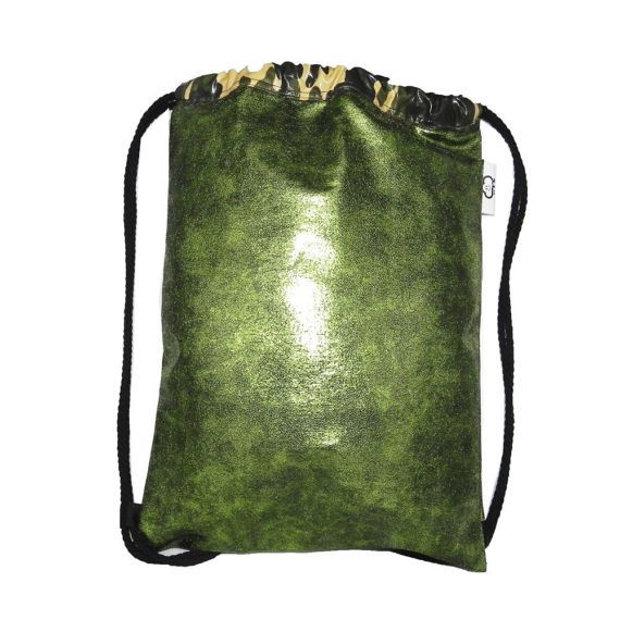 Mochila bolso mujer verde brillante y por ElTallerdeMisNubes