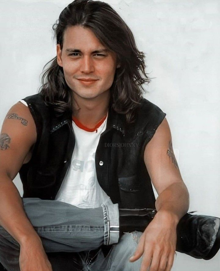 Johnny Depp Johnny Depp Long Hair Johnny Depp Hairstyle Boys Long Hairstyles