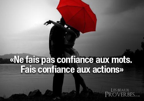 Les Beaux Proverbes – Proverbes, citations et pensées positives » » Aie confiance