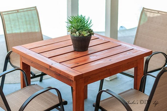 Easy 20 Square Outdoor Dining Table For Small Spaces Learn How