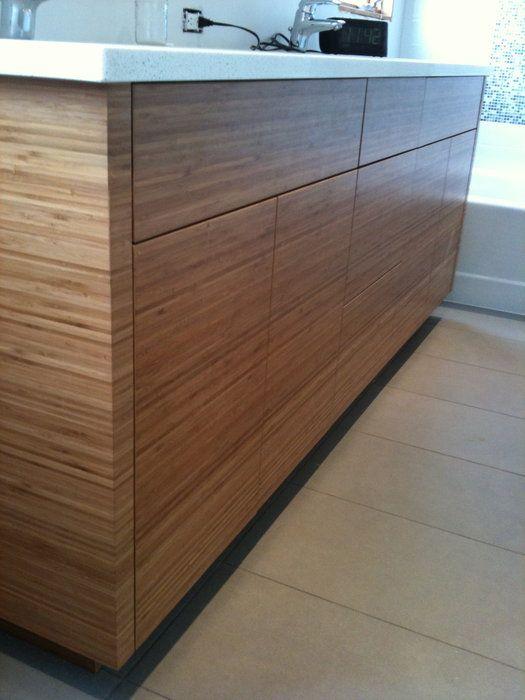 Bamboo Bathroom Vanities   By James Henderson @ LumberJocks.com ~  Woodworking Community