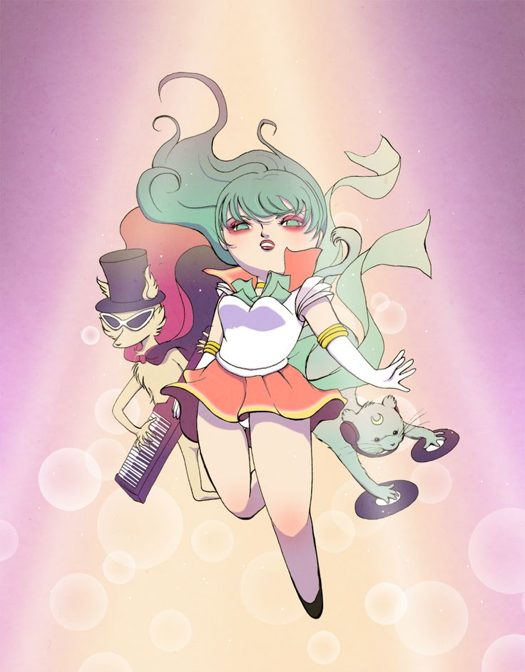 Studio Killers/Sailor Moon crossover.