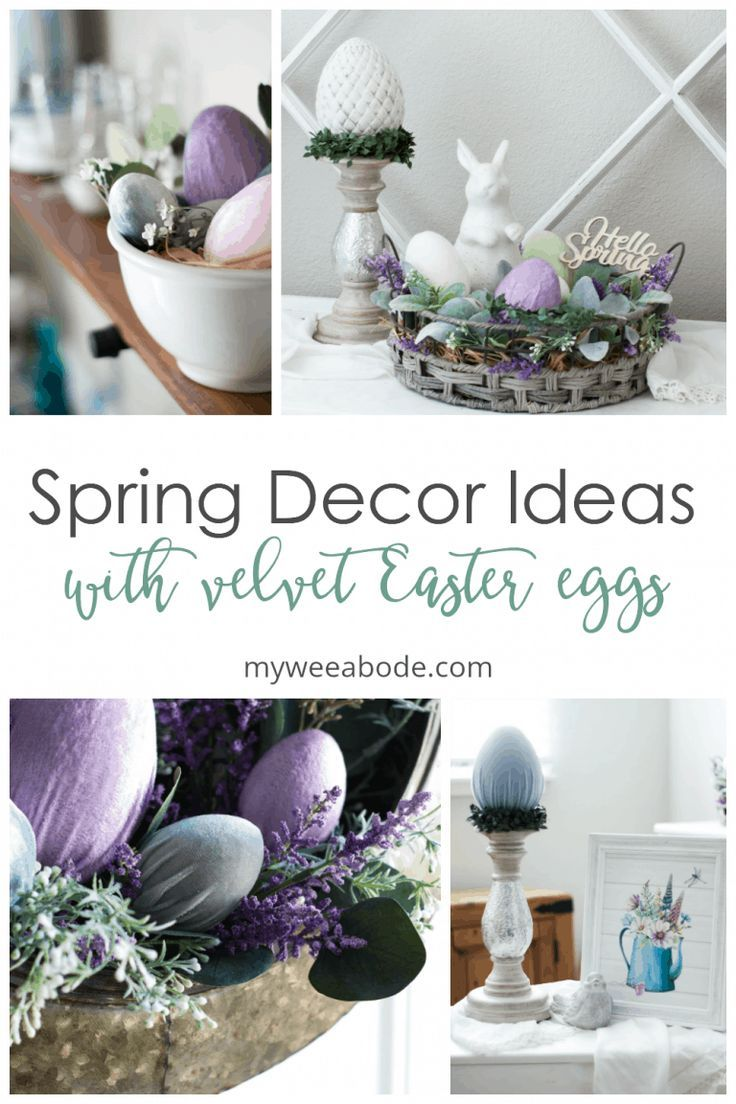 Easter Decor Apartment