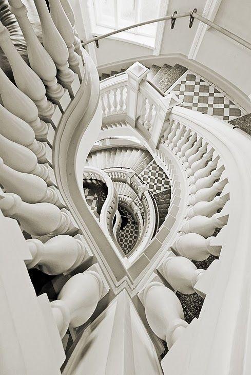 Stairway - Helsinki Natural History Museum Staircase