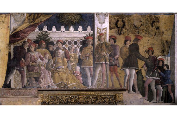 Palazzo Ducale - Andrea Mantegna Camera degli Sposi: la famiglia Gonzaga Foto di Nicola Romani