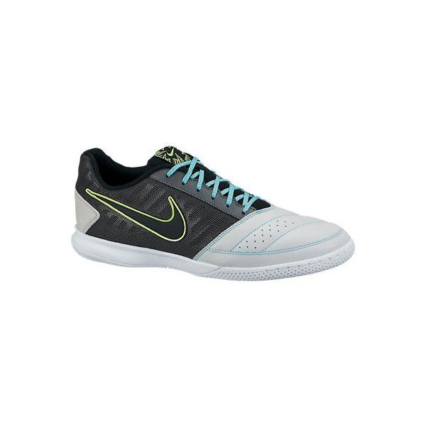 Nike Gato II negro-gris  Las Nike Gato II están fabricadas con piel natural, que te proporcionará una gran comodidad además del tacto y control perfectos con el balón.   http://www.4tres3.com/botas-futbol/1272-nike-gato-ii-negro-gris.html