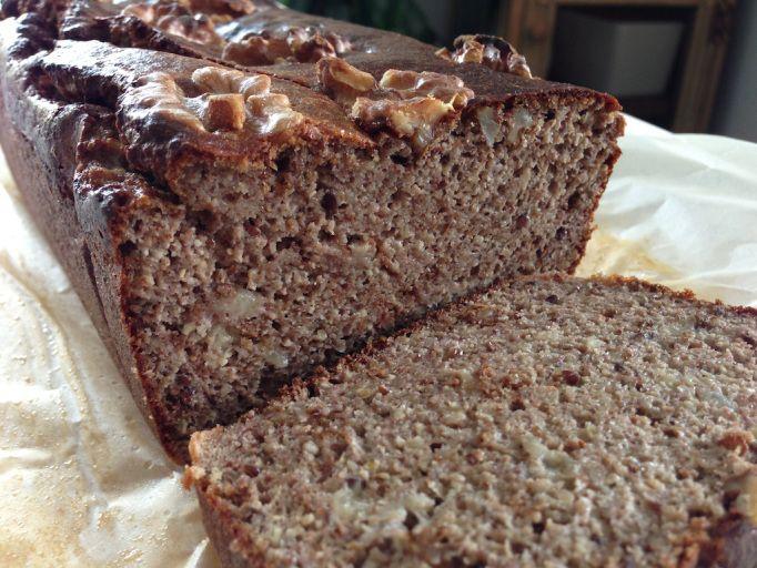 Paleo Banana and walnut bread | Pingheng