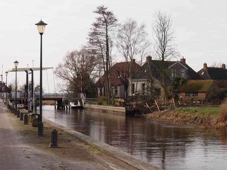 Pieterzijl. Groningen Nederland