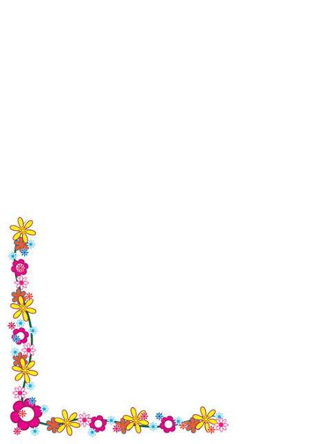 Bordes de flores