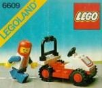 LEGO instructions and catalogs library - 6609: Race car - 6600-6699 - By Number - Instructions || number