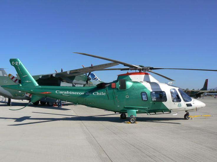 Augusta Westland AW-109 Power of Crabineros de Chile (Chilean Police)