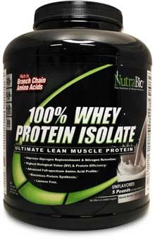 Whey Protein Isolate - 5 Lbs #sports #health #whey #protein #isolate #supplements #nutrabio
