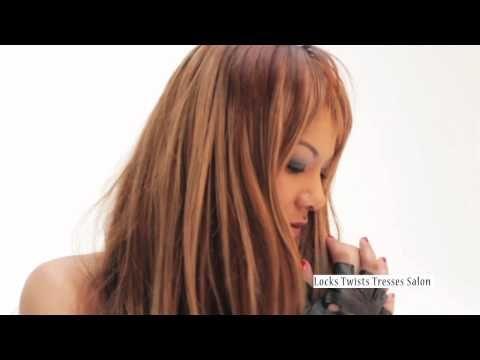 16 best images about vid os du salon locks twists tresses for Salon extension cheveux paris