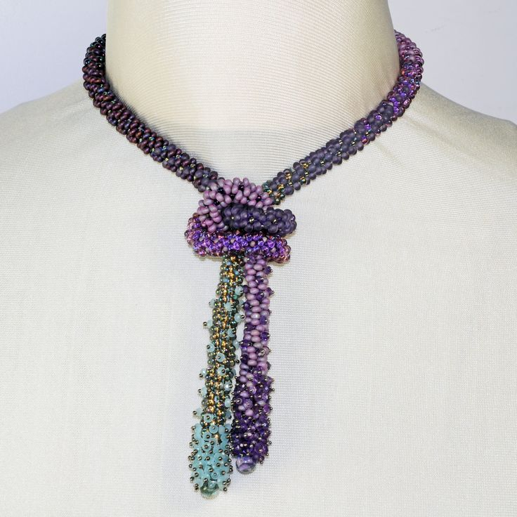 Adrienne Gaskell Textured Beaded Braids - Bead&Button Show
