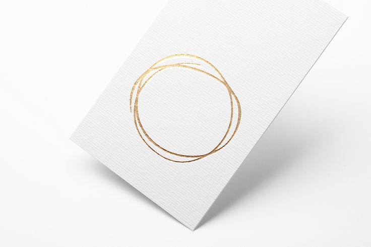 Logo design - Gold metal