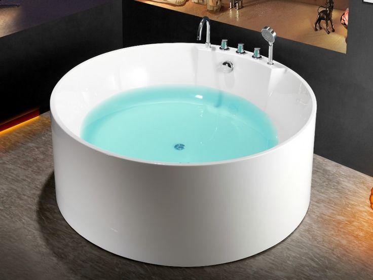 les 25 meilleures id es de la cat gorie baignoire ronde sur pinterest sdb victorienne accent. Black Bedroom Furniture Sets. Home Design Ideas
