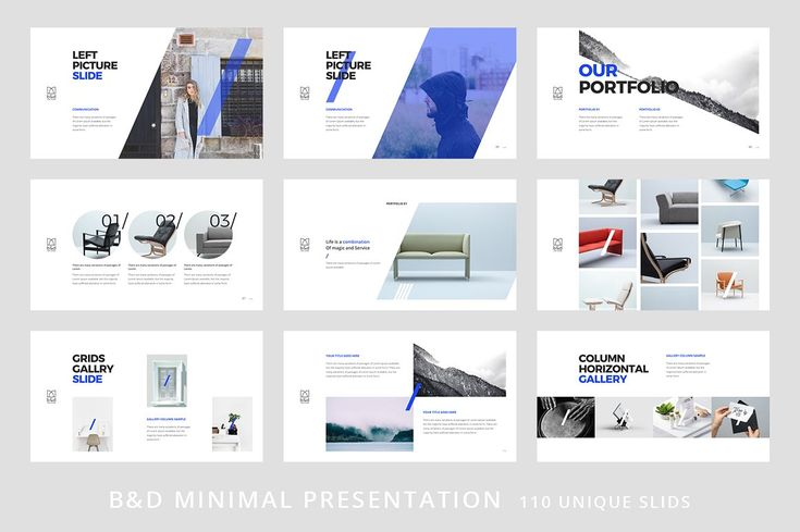 B&D-Powerpoint Template by Dublin_Design on @creativemarket