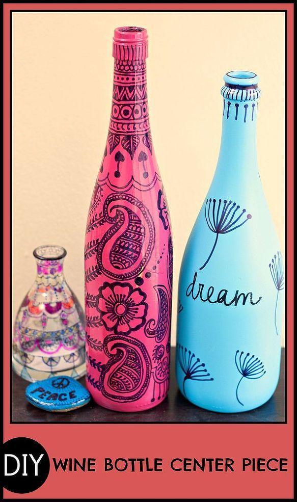 Best 25 old wine bottles ideas on pinterest empty wine for Uses for old glass bottles