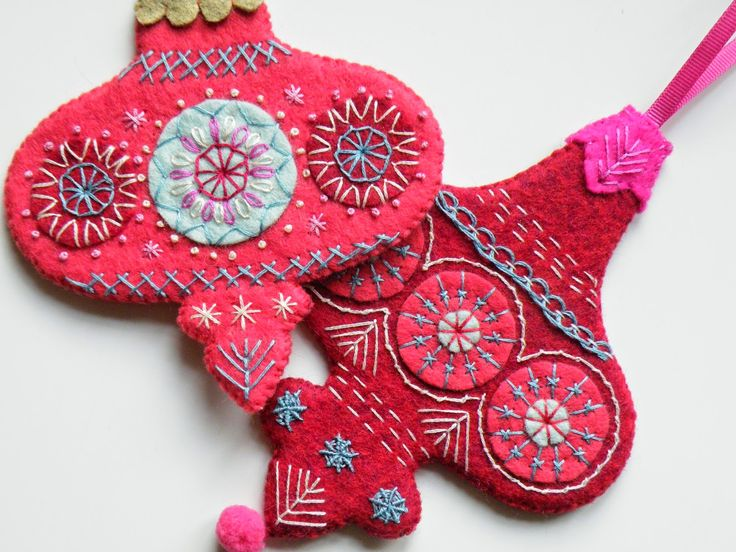Christmas Decoration Tutorial ... Bauble 2 and 3