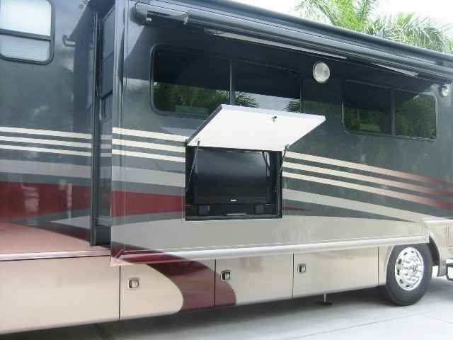 2013 Used Thor Motor Coach Tuscany 45LT Class A in Florida FL.Recreational Vehicle, rv, Better than new, one owner, non smoker coach that has the majority of options. This coach was purchased new in March 2013. All maintenance has been performed at the dealership purchased. All records are available. It is powered by 450Hp Cummins ISL diesel engine and a 6 speed Allison automatic transmission. All of this is attached to the Freightliner raised rail chassis. In addition to this, it has a Onan…