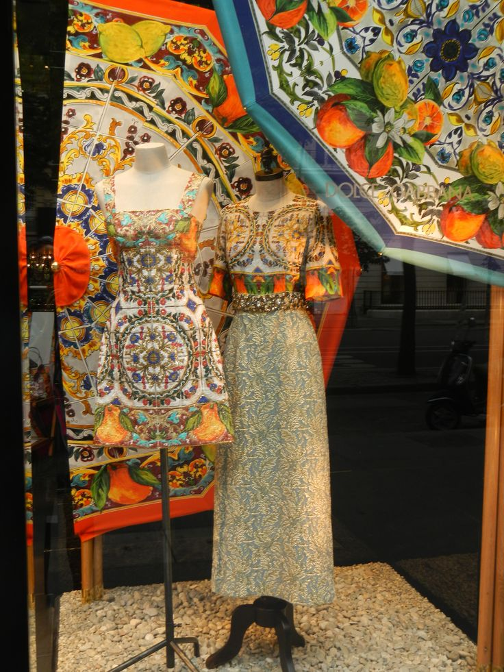 Vitrine Dolce Gabbana