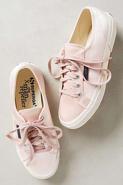Anthropologie - Superga Satin Sneakers