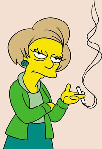 The Simpsons Pays Tribute to Edna Krabappel