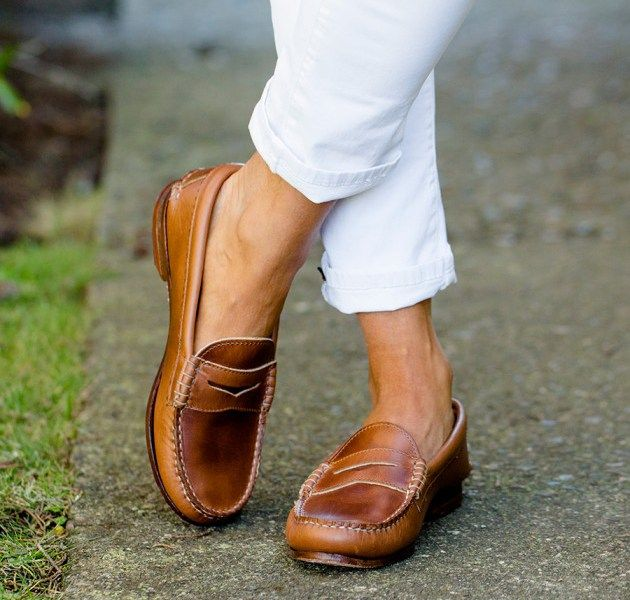 Penny loafers are one of the stylish shoes for ladies you ...