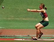 Hammer throw is awesome.  A fan could get hurt, just like NASCAR!